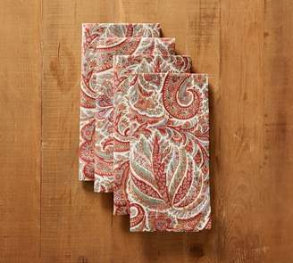 Pottery Barn Norwood Paisley Napkin