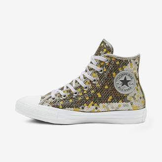 Converse Chuck Taylor All Star Holiday Scene Sequin High Top Womens Shoe