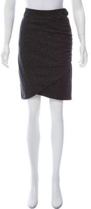 Robert Rodriguez Layered Knee Length Skirt
