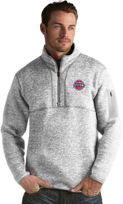 Antigua Men's Detroit Pistons Fortune Pullover
