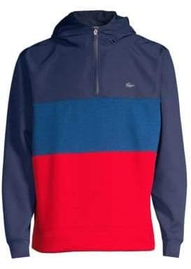 Lacoste Colorblock Half Zip Sweatshirt