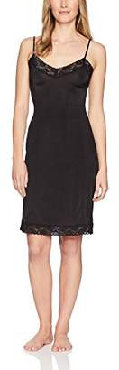 Jones New York Women's Silky Touch 38 Spaghetti Strap Anti-Cling Full Slip with Lace