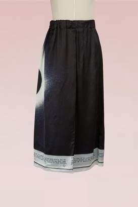 Maison Margiela Moon Eclipse Printed Skirt