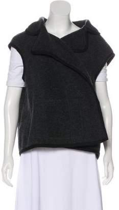Nina Ricci Textured Notch-Lapel Vest