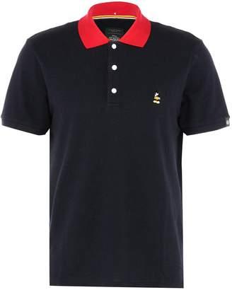 Rag & Bone x Disney Mickey Mouse embroidered contrast collar unisex polo shirt