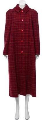 Aquascutum London Tweed Long Coat