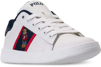 Polo Ralph Lauren (ポロ ラルフ ローレン) - Polo Ralph Lauren Little Boys' Quilton Bear Casual Sneakers from Finish Line