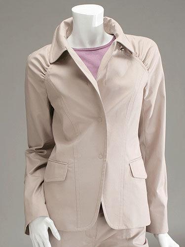 Richard Chai Gathered Sleeve Jacket