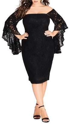 City Chic Mystic Lace Dress