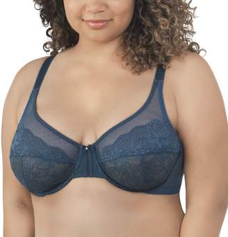 8121aa0d5d Vanity Fair Women s Flattering Lift Full Figure Non-Padded Underwire Bra  76112