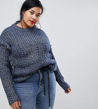 Current Air Plus Chunky Knit Jumper