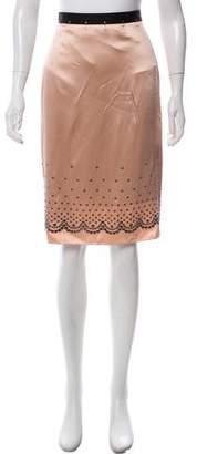 Alexander Wang Embellished Knee-Length Skirt w/ Tags