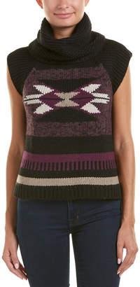 Autumn Cashmere Navajo Cashmere & Wool-Blend Vest