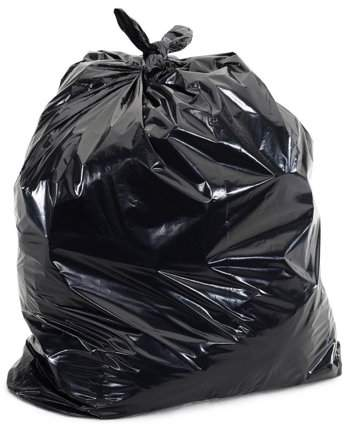 Blacho 50Pcs 55 Gallon Thicken Indoor Outdoor Kitchen Trash Can Garbage Rubbish Bag