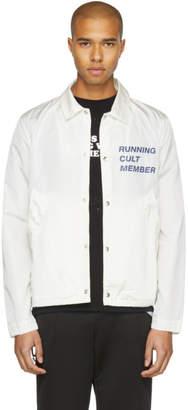 Satisfy White Cult Coach Jacket