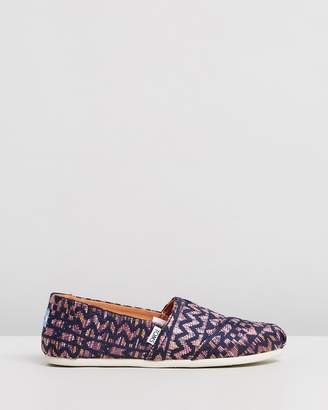 Toms Patterned Classics - Women's