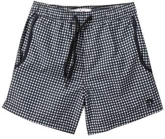 Mr.Swim Mr. Swim Gingham Swim Trunks (Toddler & Little Boys)