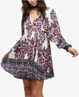 Free People Say You Love Me Mini Shirtdress $128 thestylecure.com