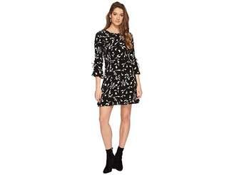 Lucky Brand Bell Sleeve Dress Women's Dress