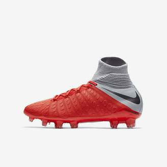 Nike Jr. Hypervenom III Elite Dynamic Fit Big Kids' Firm-Ground Soccer Cleat