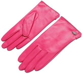 Women Leather Gloves - Nappaglo Warm Lining Winter Leather Lambskin Gloves