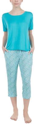Asstd National Brand Lissome Short Sleeve Scoop Hi Low Tee - Plus