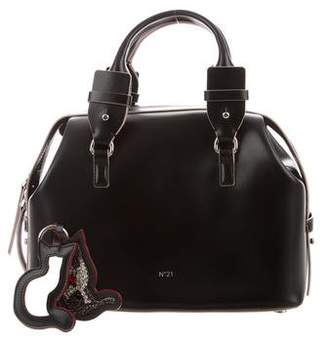 No.21 No. 21 Structured Leather Handbag w/ Tags