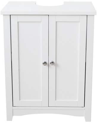 white bathroom storage cabinets. At Littlewoods · Bude Under-Sink Storage Cabinet White Bathroom Cabinets