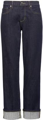 Banana Republic Girlfriend Dark Wash Jean