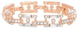 Steve Madden Crystal Link Bracelet