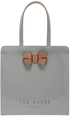 26b595a11 Ted Baker Ted Baker Vallcon Bow Detail Large Icon Bag