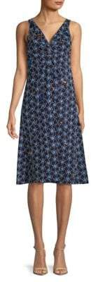 Marni Embroidered Sleeveless Dress