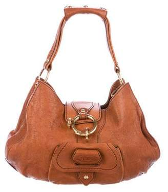 Tod's Leather Flap Hobo