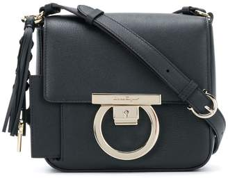 Salvatore Ferragamo Gancini flap bag bb80965fbb