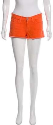 J Brand Distressed Mini Shorts