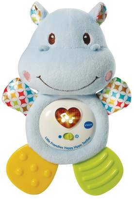 Vtech V Tech Boys Little Friendlies Happy Hippo Blue Teether