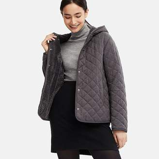 Uniqlo Women's Pile-lined Fleece Parka