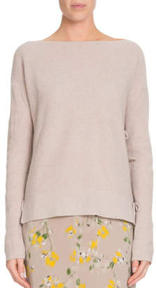 Altuzarra Open-Back Side-Tie Cashmere Sweater