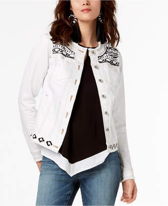 INC International Concepts I.N.C. Embellished Jacket, Created for Macy's