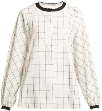 Max Mara Nora Shirt - Womens - White Black