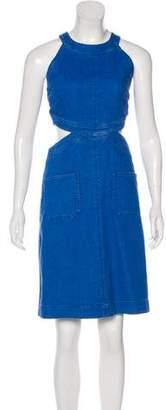 Stella McCartney 2016 Cutout Dress