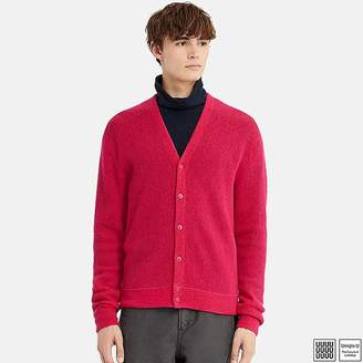 Uniqlo Men's U Wool V-Neck Long-sleeve Cardigan