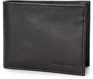 Perry Ellis Portfolio Leather Bi-Fold Passcase