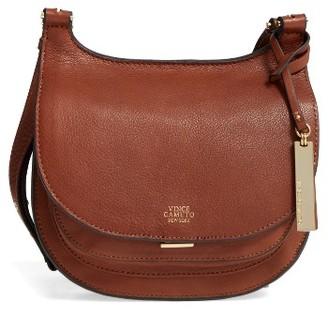 Vince Camuto 'Small Elyza' Crossbody Bag - Brown $198 thestylecure.com