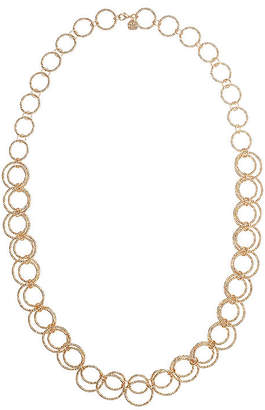 Monet Jewelry Monet Two-Tone Circle Long Link Necklace BeF9UT