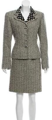 Ungaro Tweed Skirt Suit
