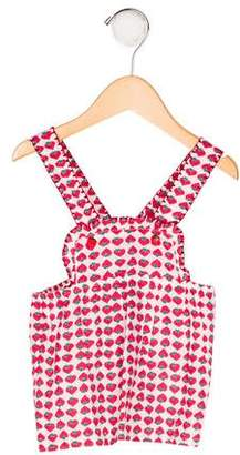 Stella McCartney Girls' Strawberry Print Dress