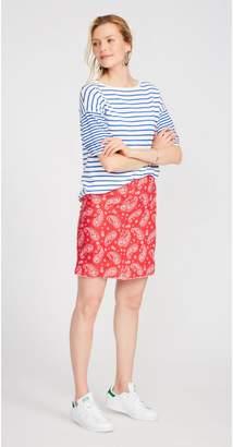 J.Mclaughlin Flynn Linen Skirt in Country Bandana