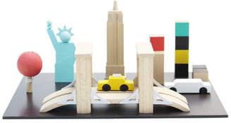 Kiko+ New York Magnetic Wooden Machi Game