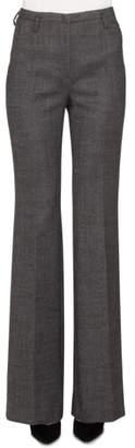 Akris Farrah Stretch Tweed Flare Pants
